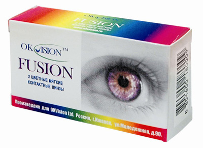 Линзы «OK Vision Fusion Fancy»